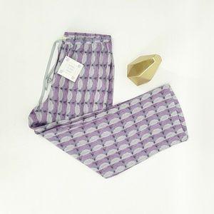 🌴 NEW Sigrid Olsen Pants Small Linen Purple